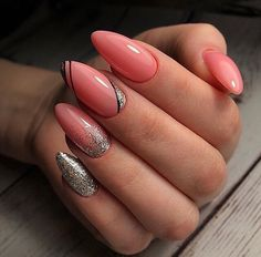 Nail Art Ideas For Every Woman's Winter Fashion In 2020 – ShelbyFashions Nagellack Design, Nagellack Trends, Blush Nails, Pink Nails, Acrylic Nail Designs, Nail Art Designs, Acrylic Nails, May Nails, Classic Nails