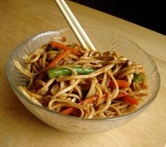 CHOW MEIN!! if i could make it healthier, i could seriously eat this everyday for the rest of my life