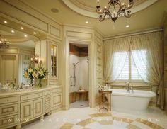 Master Bathroom, Free standing tub