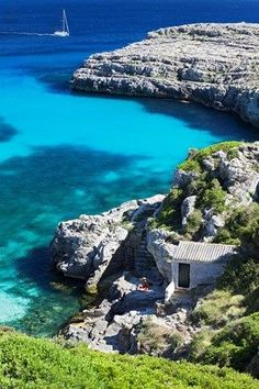 An incredible view of the water in Menorca! devourspain.com/