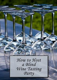 How to host a blind wine tasting