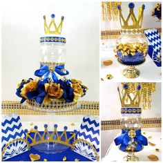 PURPLE and GOLD Prince/Princess Baby Shower Candy Buffet Centerpiece with Baby Shower Favors / Purple and Gold Baby Shower Theme Decorations Baby Shower Candy, Baby Shower Crafts, Royal Baby Showers, Baby Shower Favors, Baby Shower Parties, Baby Shower Themes, Baby Boy Shower, Shower Ideas, Baby Shower Princess