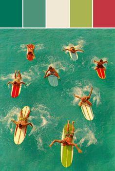 California Surfers Designed By Lisa Perrone | Stylyze Creative Director via Stylyze