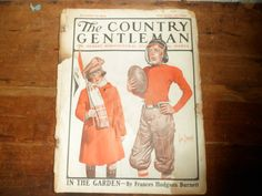 The Country Gentleman Magazine Young Football by thelongacreflea, $15.00