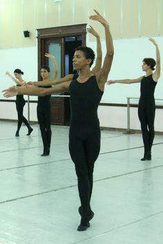 students at the national ballet school Havana