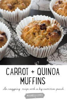 Carrot and Quinoa Muffin Recipe - an easygoing recipe with a big ...