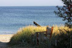 Morgenstimmung am Strand von Ahrenshoop.