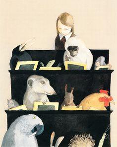 Ilustración de Lisbeth Zwerger.