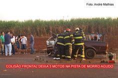 Grave acidente deixa três mortos na pista de Morro Agudo
