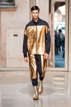Issey Miyake: One of my favorite looks. Check out the footwear.