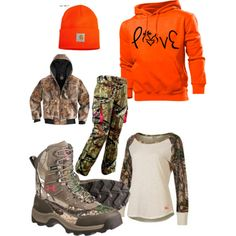 """""""I want to go hunting"""" by countrygirlbecca3 on Polyvore"""