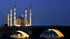 Adana seyhan Sabancı Cami Taş Köprü   Flickr - Photo Sharing!