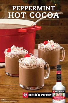 Rich & Minty Hot Chocolate Punch