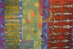 Jane Dunnwold - artist works in dying art cloth Textile Design, Textile Art, Creative Inspiration, Color Inspiration, Quilt Patterns, Quilting Ideas, Abstract Images, How To Dye Fabric, Silk Painting
