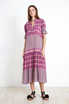 LOS ALTOS DRESS - LA INDIA PLAID | Apiece Apart