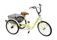 Adult Tricycle Bicycle Trike Cruise Bike W/ Basket -Catalina Adult Tricycle, 3rd Wheel, Komodo, No Equipment Workout, Bmx, Cycling, Bicycle, Sports, 1 Year