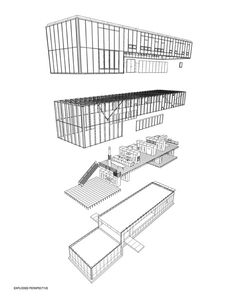 Plan by Daniel Libeskind for Jewish Museum Berlin, Based