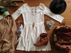 Blog Jennyfer: Boho white dress DIY #TUTORIAL