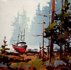 Wet Day, Rivers Inlet, by Michael O'Toole