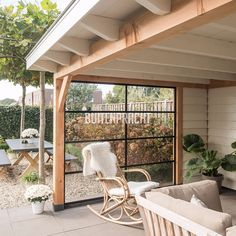 Pergola For Small Patio Free Standing Pergola, Pergola With Roof, Pergola Patio, Pergola Plans, Backyard Patio, Backyard Landscaping, Pergola Kits, Pergola Ideas, Outdoor Rooms