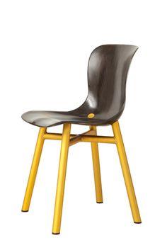 Functionals, Wendela chair gold Design: Serener http://functionals.eu/products/seats/wendela_chair