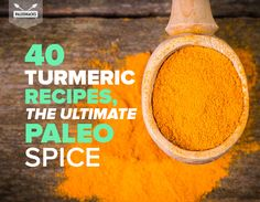 Turmeric is known as one of the healthiest natural foods on Earth. Its amazing health benefits make it the ultimate Paleo spice. To spice up your paleo diet, here are the tastiest turmeric recipes on the web!
