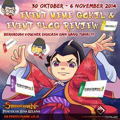 Swordsmania,   Team swordsman kali ini memberikan challenge kepada Swordsmania untuk mengikuti EVENT KREATIF ini! Dan mimin akan memberikan hadiah-hadiah menarik bagi para pemenangnya!   Penasaran kan? Ayo cek disini untuk lebih lengkapnya: http://goo.gl/joPgWO  Jangan lupa untuk tetap meramaikan Grup Official Swordsman Online Indonesia : http://goo.gl/vjNqkp
