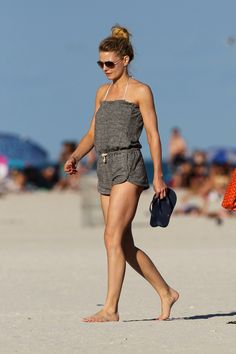 beach clothes/ jennifer morrison this is a cute little romper
