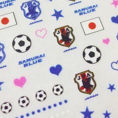 日本代表2014オフィシャルネイルシール【サッカーサポーターグッズ】