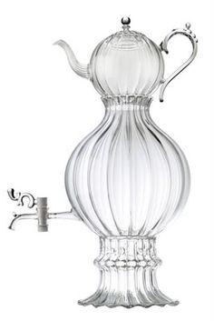 Glass samovar