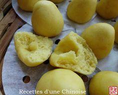 Recettes d'une Chinoise: Mini wotou ou mini pain au maïs à la vapeur 小窝头 xiǎo wōtóu