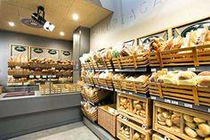 Design - bakery bakery decor, bakery interior, bakery display, bakery s Bakery Shop Design, Cafe Design, Store Design, Bread Display, Bakery Display, Bakery Decor, Bakery Interior, Interior Design, Bakery Store