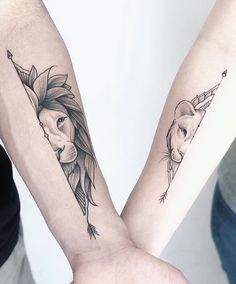 Alex Treze on Instag Mommy Tattoos, Cute Couple Tattoos, Leo Tattoos, Sister Tattoos, Cute Tattoos, Body Art Tattoos, Sleeve Tattoos, Forearm Tattoos, Tatoos