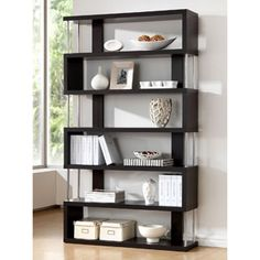 Shop for Baxton Studio Javier Modern Zig Zag High Display Shelving. Get free shipping at Overstock.com - Your Online Furniture Outlet Store! Get 5% in rewards with Club O!