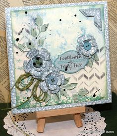 Quick Quotes Challenge 59 Happy Friday greetings to you. We are very excited to kick off 2016 with our first Challenge for the year. Hi, Connie here with a darling card using the Farmhouse Collection by Quick Quotes. I love the green and blue color tones in this collection. So pretty together!