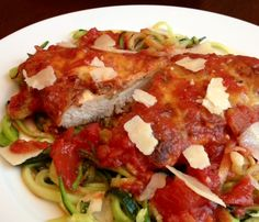 Healthy Chicken Parmesan - Powered by @ultimaterecipe
