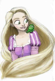 Rapunzel, Rapunzel -color- by MelanieGracey on DeviantArt