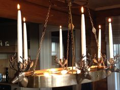 """Chandelier for mountain lodge """"Stetind"""""""