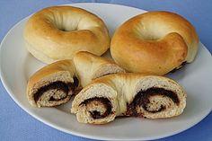 Nutella - Ringe, ein tolles Rezept aus der Kategorie Frühstück.