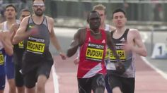 400m (Martyn Rooney) and 800m (David Rudisha) specialists face off in a 500m challenge in the great north city games