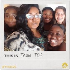 The TCF Familys all here and #ThisIsUs. Who is excited for the new season of @NBCThisIsUs premiering Tuesday Sept. 26th ? I know that I am and I have the team TCF here with me! Click the link in my bio to create your own photo. #ad
