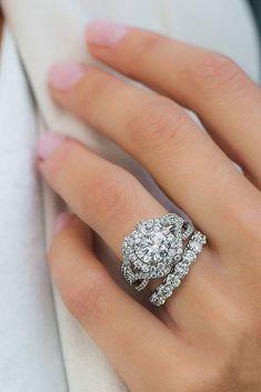 Beautiful bridal set #rings