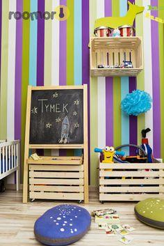 roomor!: kid's room, crates, kid's deco,