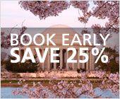 Amtrak- National Cherry Blossom Festival savings- NJ/NY to DC/MD
