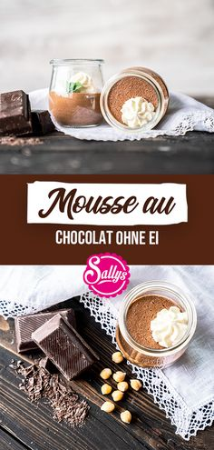 A mousse au chocolat without egg? Does that taste good? Yes, in any case! This mousse au chocolat is a must for all chocolate lovers! It can do without an egg, because I use chickpea water, the aquafa Vegan Chocolate Mousse, Chocolate Donuts, Chocolate Lovers, Chocolate Desserts, Desserts Végétaliens, Heart Healthy Desserts, Healthy Dessert Recipes, Aquafaba, Cookie Dough Vegan