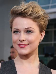 Super Formal Hairstyles For Short Pixie Hair Images And Video Tutorials Hairstyles For Men Maxibearus