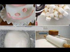 Como Fazer Pasta Americana de Marshmallow - YouTube