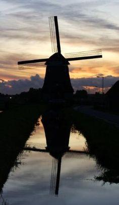 Volendam Sunset  Netherlands