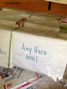 Does your group need a service project? Write letters to the troops together! http://operationwritehome.org/AnyHero