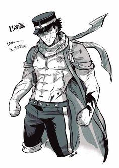 """ニボシタロウ on Twitter: """"本誌ネタ 杉元… """" Meiji Era, People Art, Disney Cartoons, Fangirl, Anime, Character Design, Geek Stuff, Fox Mask, Sketches"""